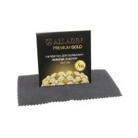 """Салфетка для полировки золотых изделий """"ALLADIN PREMIUM"""" 14х7см"""