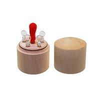 Набор пробирок для реактивов, 1мл (5шт), с пипеткой в деревянном футляре