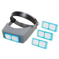 Очки бинокулярные MG81007-B 1.5х/2,0х/2,5х/3,5х