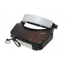 Очки бинокулярные MG81007-C, 1.5/3.0/9.5/11.0x с подсветкой