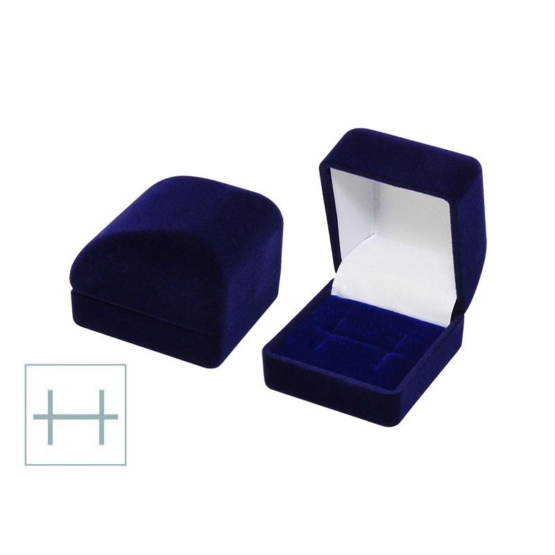 Футляр под кольцо или серьги квадратный