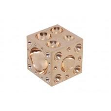 Анка кубическая бронзовая Ø3-30мм