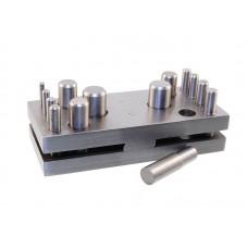 Вырубка дисков Ø3-16мм (14 пуансонов)
