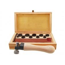 Приспособление для внутреннего крепления колец в деревянном боксе