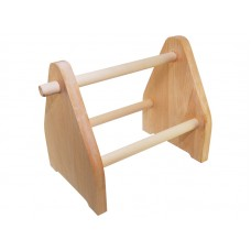Подставка для флацанок деревянная