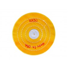 Круг муслиновый желтый Ø152мм, 50 слоёв