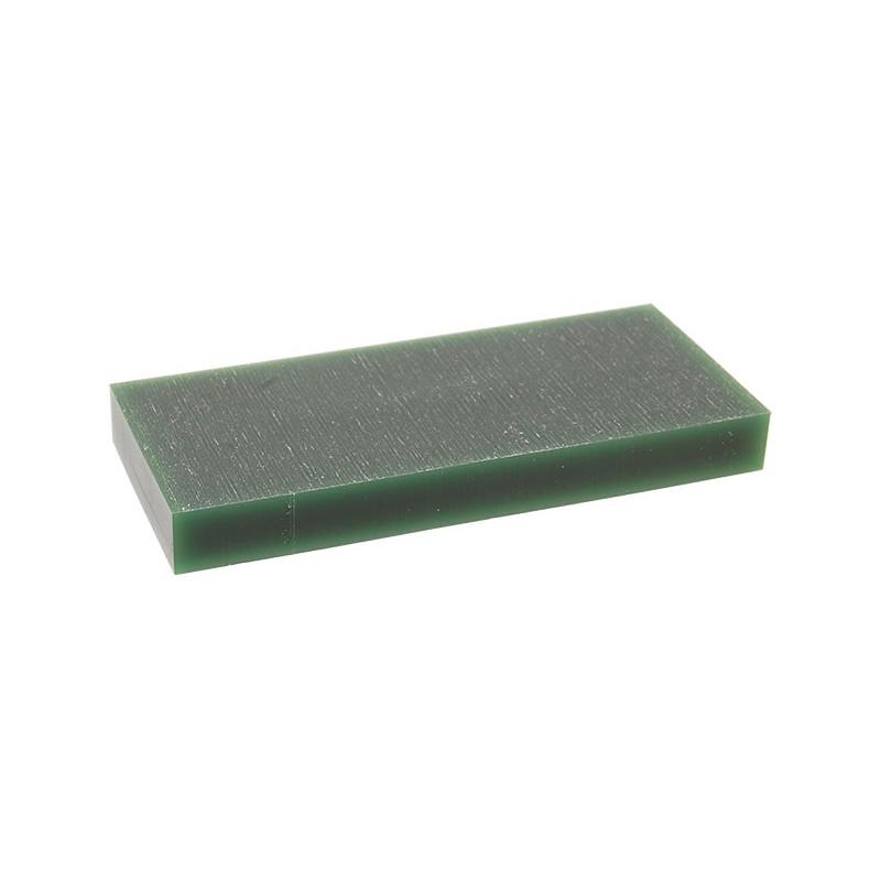 """Воск модельный """"Зеленый"""" (ручная и мех. обработка), пластина 88х37х9,5мм"""