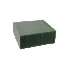 """Воск модельный """"Зеленый"""" (ручная и мех. обработка), пластина 88х37х9,5мм (10шт)"""