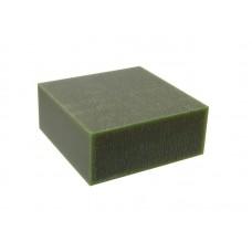 """Воск модельный """"Зеленый"""" (ручная и мех. обработка), брусок 88х88х37мм"""