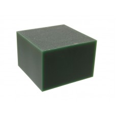"""Воск модельный """"Зеленый"""" (ручная и мех. обработка), брусок 88х88х59мм"""