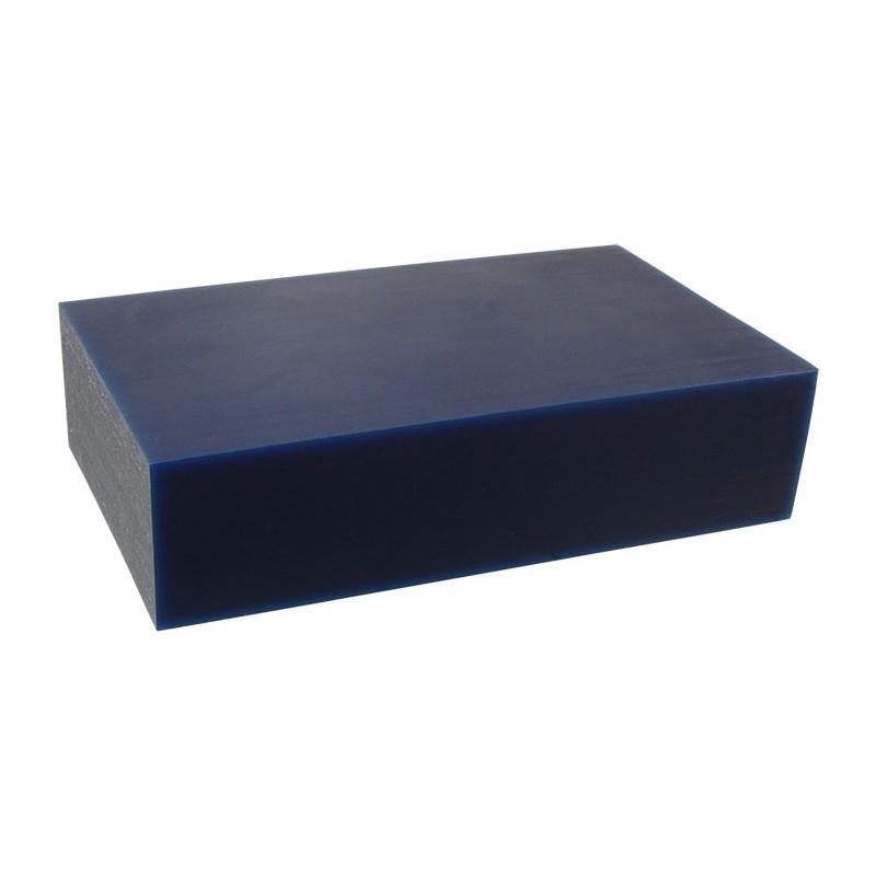 """Воск модельный """"Темно-Синий"""" (обработка на станках с ЧПУ), брусок 150х88х37мм"""