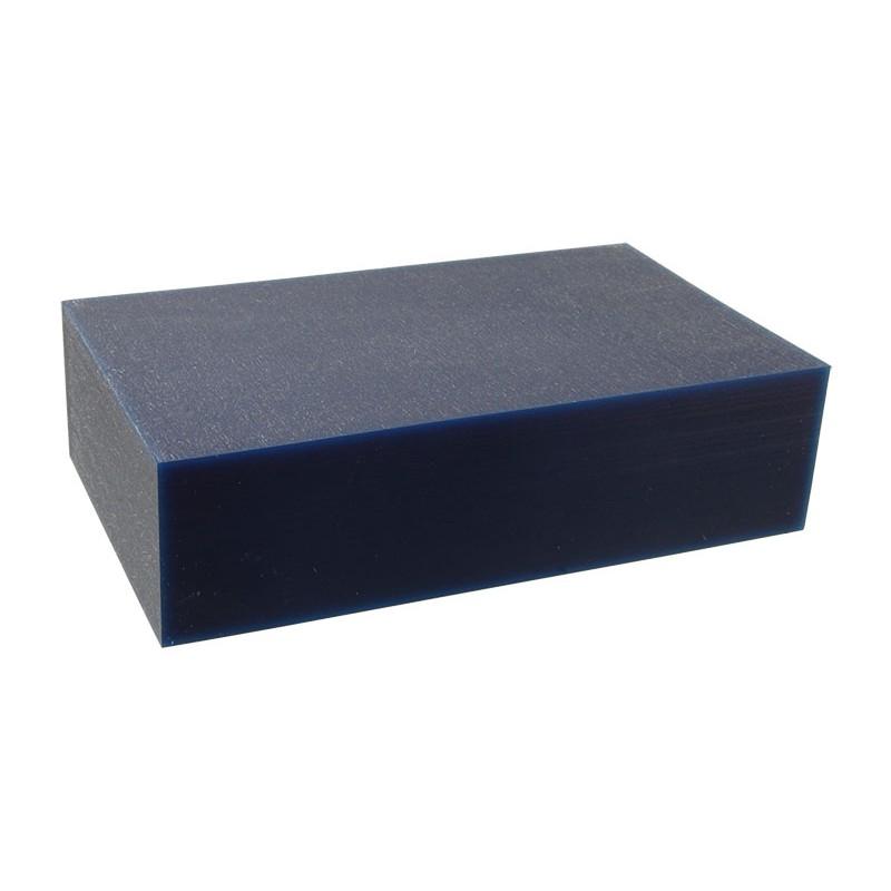 """Воск модельный """"Темно-Синий"""" (обработка на станках с ЧПУ), брусок 150х88х40мм"""