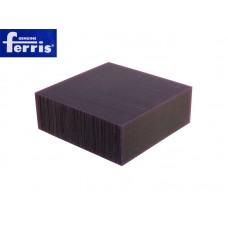 Воск модельный FERRIS, брусок 90х90х30мм, сиреневый