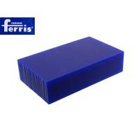 Воск модельный FERRIS, брусок 90х150х37мм, синий