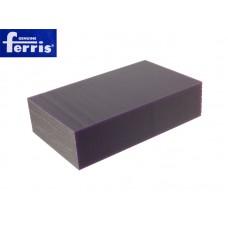Воск модельный FERRIS, брусок 90х150х37мм, сиреневый