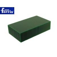 Воск модельный FERRIS, брусок 90х150х37мм, зеленый