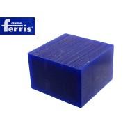 Воск модельный FERRIS, брусок 90х90х60мм, синий