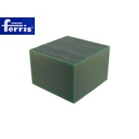 Воск модельный FERRIS, брусок 90х90х60мм, зеленый