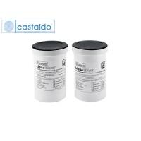 Резина жидкая прозрачная безусадочная CASTALDO LiquaGlass , двухкомпонентная, 0,9кг