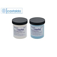 Резина жидкая силиконовая CASTALDO LiquaFast ICE RTV, двухкомпонентная, 1кг
