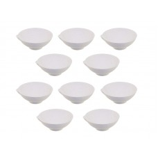 """Тигель керамический """"чашка"""" №0, Ø40мм, 10шт"""