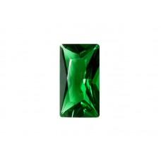 Алпанит зеленый, багет, 11х7мм