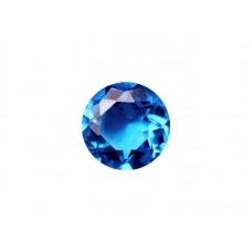 Алпанит голубой электро, круг, 12мм