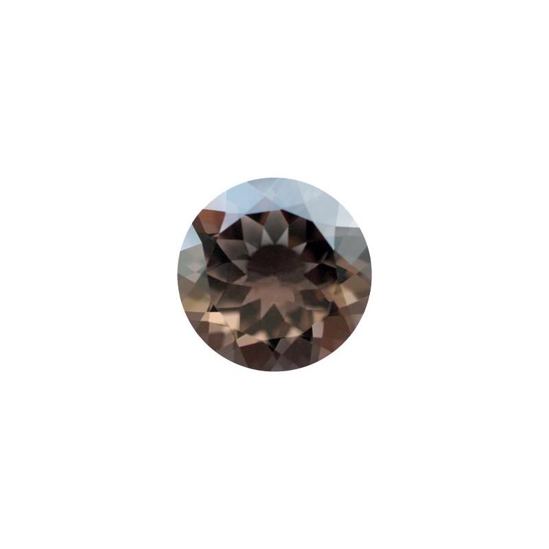 Кварц дымчатый, круг, 2,25мм