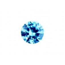 Нанокристалл голубой, круг, 2,5мм
