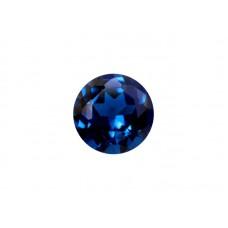 Нанокристалл синий, круг, 2,0мм
