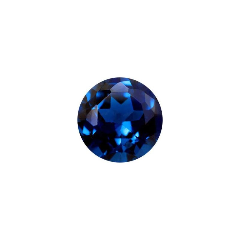 Нанокристалл синий, круг, 12мм