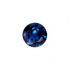 Шпинель синтетическая синяя, круг, 3,25мм
