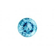Топаз sky blue, круг, 2,5мм