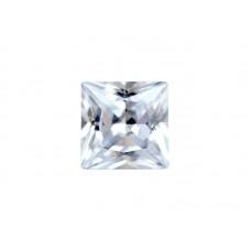 Фианит бесцветный, квадрат, 10х10мм