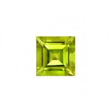 Хризолит, квадрат, 2,5х2,5мм