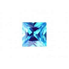 Нанокристалл голубой, квадрат, 6х6мм