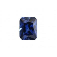 Корунд синтетический синий, октагон 7х5мм