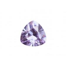 Фианит лавандовый, триллион, 6х6мм