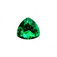 Фианит зеленый, триллион, 4х4мм